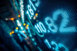 Wall Street electronic stocks art | SABEW